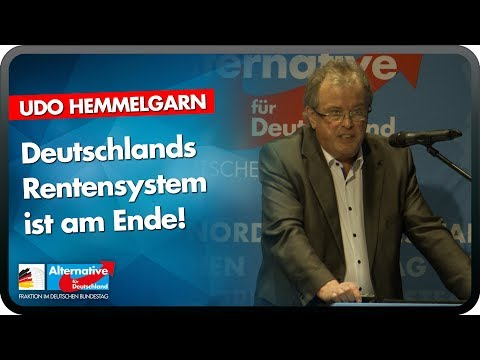 Deutschlands Rentensystem ist am Ende! - Udo Hemmelgarn - AfD-Bürgerdialog in Mettmann