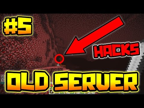 ATTACKED BY A HACKER!! | OLDEST SERVER IN MINECRAFT #5