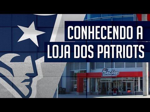 Conhecendo a Loja dos Patriots no Gillette Stadium