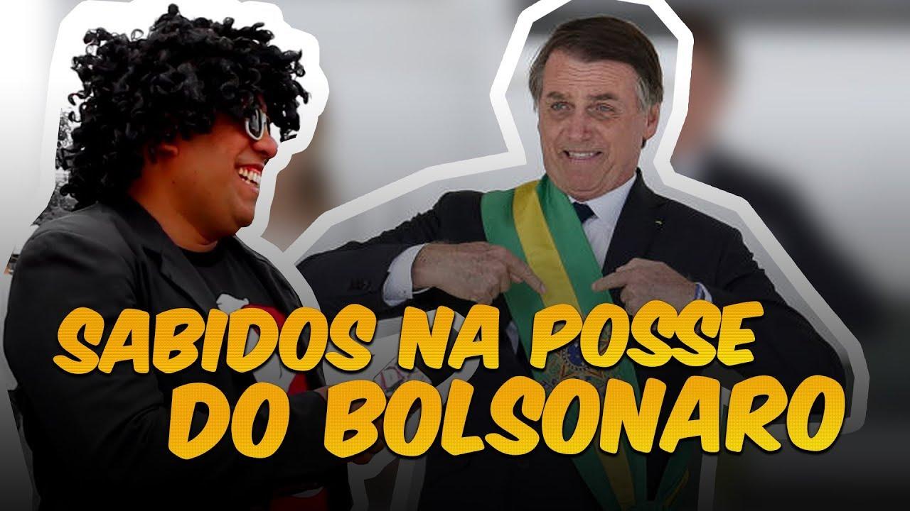 SABIDOS NA POSSE DO BOLSONARO