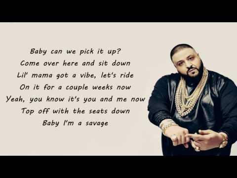 Dont Quit - Dj Khaled ft.Travis Scott & Jeremih (Lyrics)