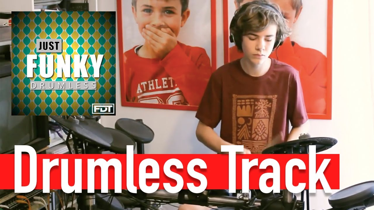 Just Funky, Free Drumless Tracks (FDT), drum cover