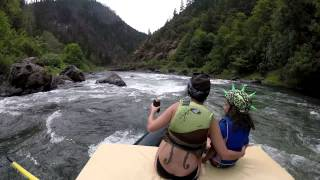 Rafting The Wild And Scenic Rogue River - June 2015