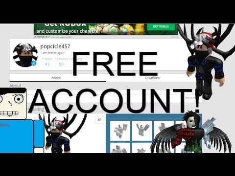 free roblox accounts discord
