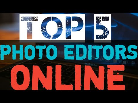 TOP 5 PHOTO EDITING SOFTWARES ONLINE 2019 - 동영상
