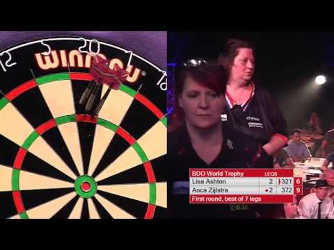 Ashton vs Zijlstra Darts Ladies World Trophy 2017 Round 1