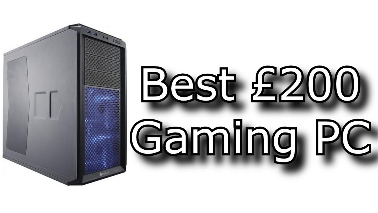Best £200 Gaming PC 2014 - YouTube  Best £200 Gami...