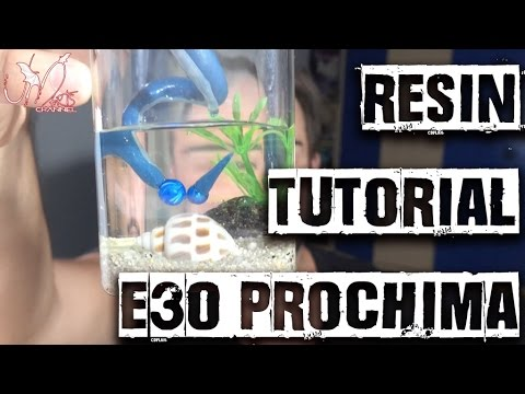 Resin Tutorial - How to make an Aquarium with Resin E30 Prochima