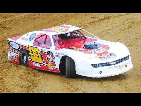 Victor Earle Jr. #00 | In-Car Camera | McKean County Raceway | 9-28-17