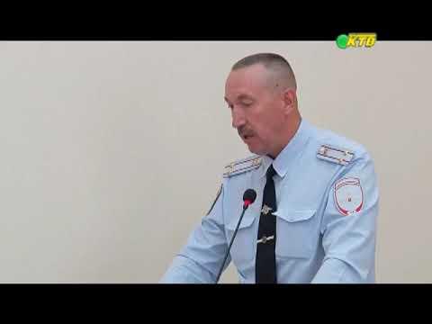 11.07.2019 Отчет начальник ОМВД перед депутатами г. Нововоронежа
