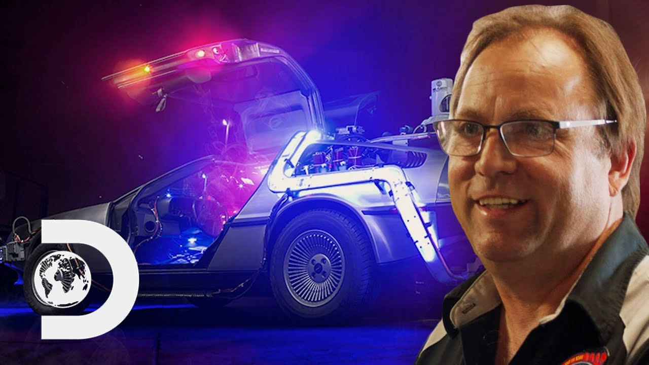 The Man Who Made Building Time Machines Into A Career!   Expedition: Back To The Future