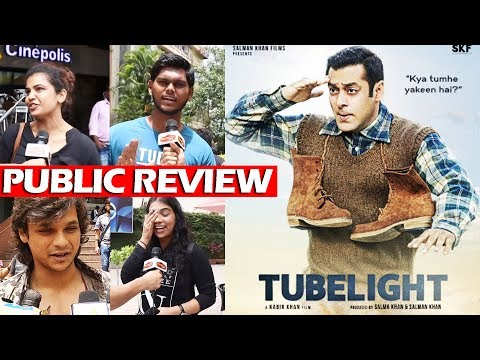 Tubelight Movie - PUBLIC REVIEW   First Day First Show   Salman Khan, Sohail Khan - Blockbuster