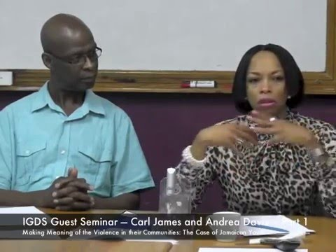 IGDS Guest Seminar — Andrea Davis and Carl James Part 1 Presentation