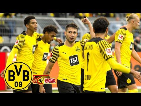 Guerreiro's & Haaland's stunning volleys!   BVB - Union 4:2   All goals & highli