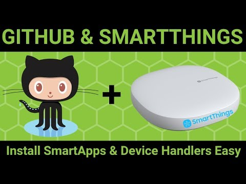 Install SmartApps And Custom Device Handlers In SmartThings