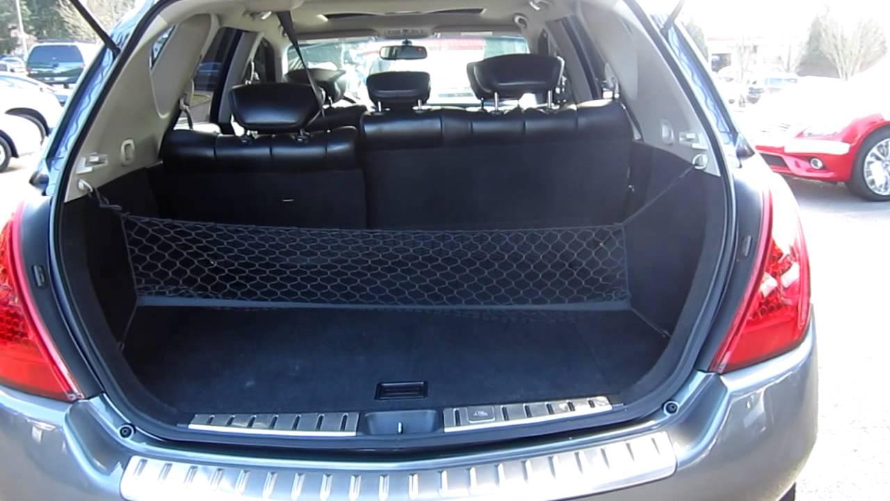 Beautiful 2006 Nissan Murano SL V6 AWD   Stock# 5137A   Interior, Rear
