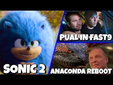 Sonic Movie 2, Fast 9 Trailer, Anaconda Reboot & MORE!!