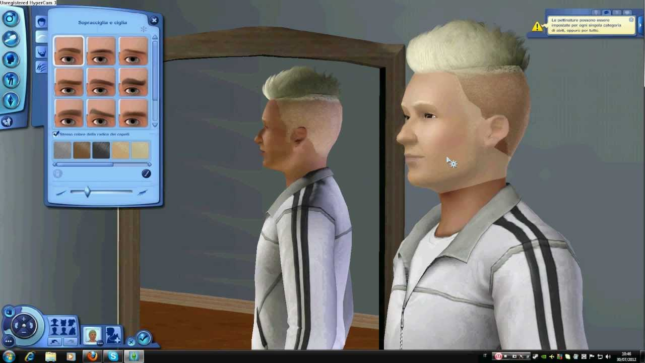 pettinature the sims 3