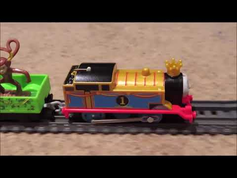 Trackmaster Monkey Mania Thomas Unboxing Review & Run