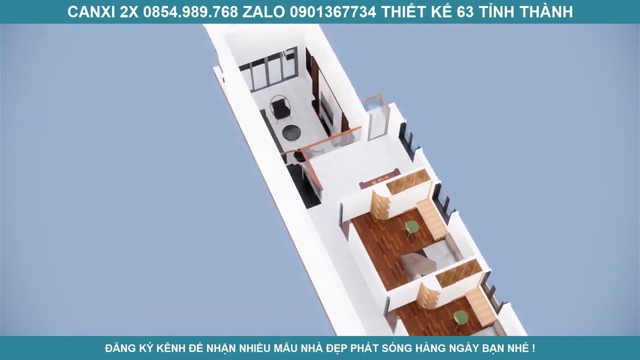 image Nhà gác lửng mái thái đẹp 3 phòng ngủ tại Bình Định  Nhà đất Điện Biên