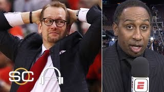 Stephen A.: Nick Nurse let the Warriors off the hook in Game 5 | SC with SVP