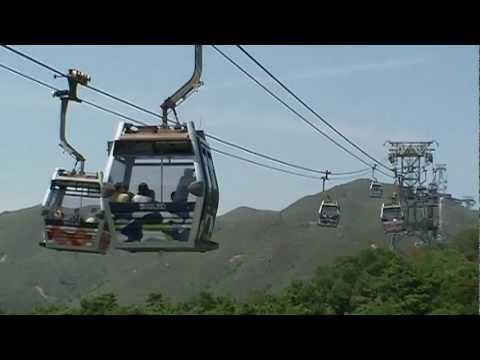 Breathtaking Views from Skyrail Cable Car, Lantau Island, Hong Kong (DON'T MISS THE ENDING)