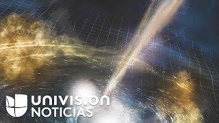Detectan ondas de un choque de estrellas que Einstein predijo hace un siglo