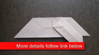 Paper Folding Origami Cross Pattern