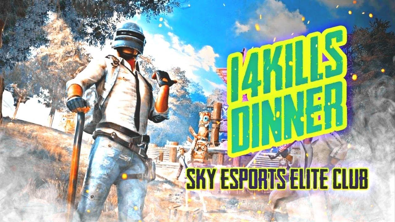 14 Kills dinner | Sky esports elite scrims | m4ntyOP