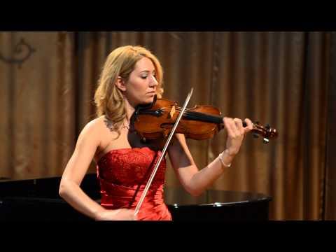 AVivaldi, Violin Concerto in E, La Primavera Spring 1st mvt  Erzsebet Pozsgai violin