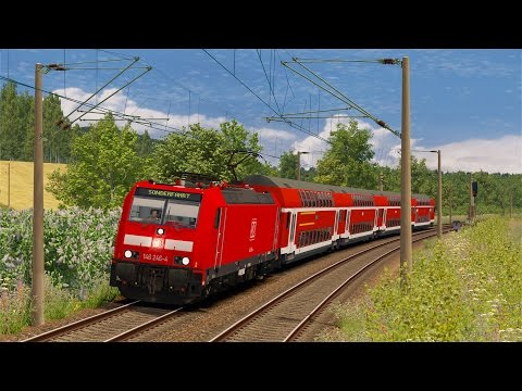 LET`S TEST Train Simulator 2017 / Regional-Express nach Singen (Hohentwiel) mit BR 146.2