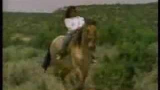 Sesame Street - A girl and her horse