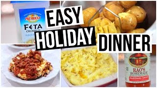 Easy Holiday Dinner Recipe! Cooking With My Mom! Nikki Phillippi