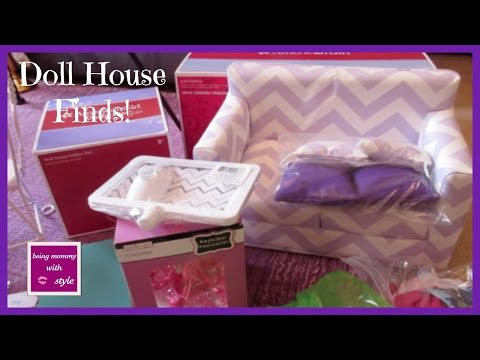 American Girl Doll House Finds! | beingmommywithstyle