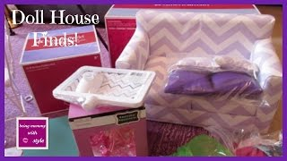 American Girl Doll House Finds! beingmommywithstyle