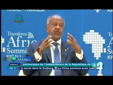 Télé Djibouti Chaine Youtube : JT en Fr de 22h du 11/05/2017