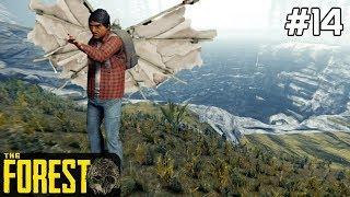 The Forest PL Gameplay [#14] Skaczemy do LEJU KRASOWEGO na Lotni /z Skie