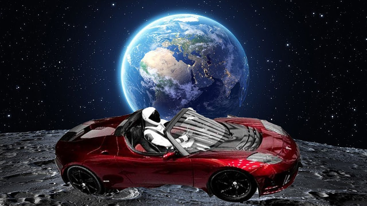 tesla car in space live. live: spacex\u0027s starman riding a tesla roadster in space! car space live
