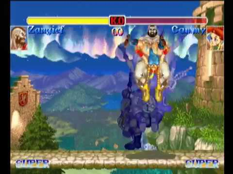 Zangief(Separate,10m) - HYPER STREET FIGHTER II
