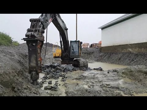R&D Harris Excavating Ltd. - Hydraulic Rock Breaking