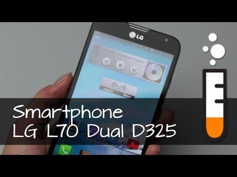 LG L70 Dual D325 Smartphone - Vídeo Resenha Brasil