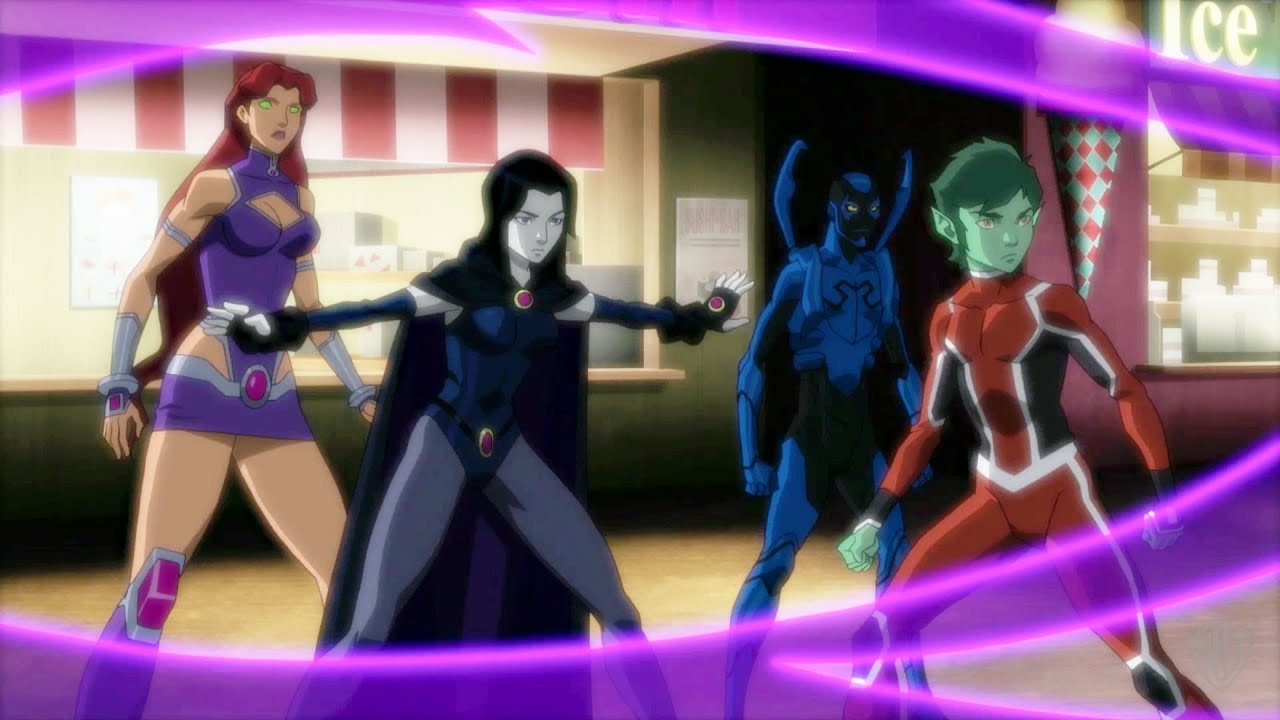justice league vs teen titans watch free
