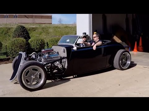 Dropping A Ford 302 5.0 V8 In A '33 Ford Hot Rod Kit Car - Engine Power S2, E11