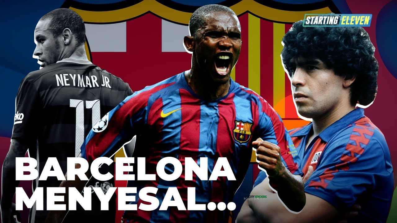 Penjualan Pemain Paling Disesali FC Barcelona