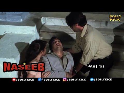 Download Naseeb Full Movie Part 10   Govinda   Hindi Movies 2021   Mamta Kulkarni   Kader Khan   Rahul Roy