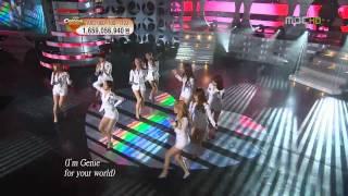 HD SNSD - Tell Me Your Wish (Genie) Nov30.2009 GIRLS' GENERATION Live 720p_1