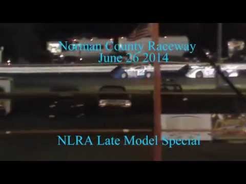 Norman County Raceway 6.26.14 NLRA Late Models