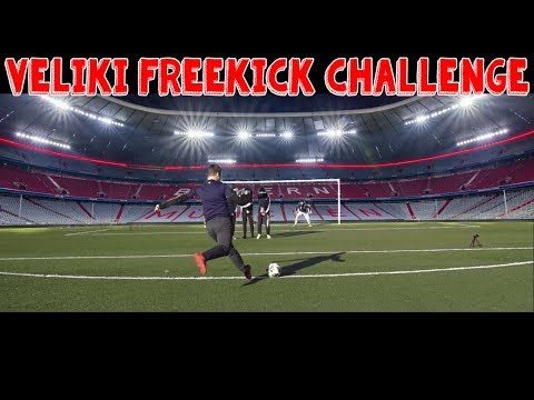 VELIKI FREEKICK CHALLENGE