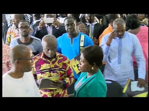 UNIVERSITY OF GHANA Nov 2017 CONGREGATION - ISSER Conference Hall : Sat Morning Session