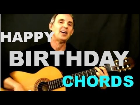 Happy Birthday Chords | Easy Beginner Guitar Song - YouTube